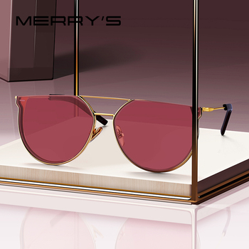 MERRYS DESIGN Women Luxury Brand Cat Eye Sunglasses Ladies Fashion Trending Sun glasses UV400 Protection S6265 Apparels Sunglasses