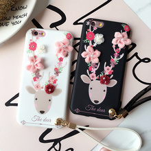 Cases with Flower Deers for iPhone