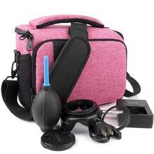 Для женщин Водонепроницаемый Камера сумка DSLR чехол для Canon EOS R 4000D 2000D 1300D 1200D 1000D 800D 760D 750D 700D 650D 600D 550D 500D 450D