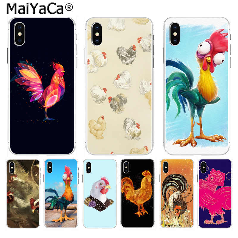 MaiYaCa Chicken Cock Rooster On Sale Luxury Cool Phone Case for iphone 11 pro 8 7 66S Plus X 10 5S SE XR XS XS MAX Cover