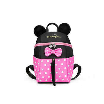 New Kids bag Kindergarten Children Cartoon Mickey School Bags Pink Minnie Backpack Princess Schoolbags Satchel For Boys Girls - DISCOUNT ITEM  31% OFF All Category