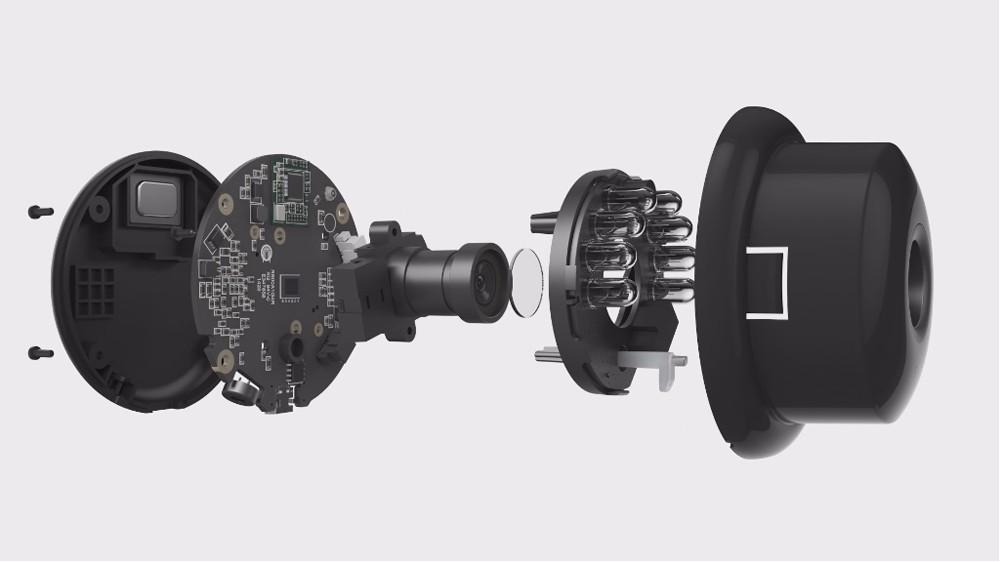 домашняя камера Йи 720р, ночное видение, монитор видео, ИС/беспроводная сеть, наблюдение, домашняя безопасность, международная версия
