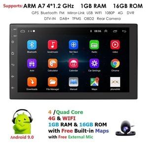 Android 9.0 2 Din Car radio Mu