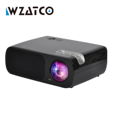 WZATCO Projector 3000Lumens Android 4.4 Wifi Smart Mini Projectors Support full hd led Proyector Beamer for Home Theater KTV