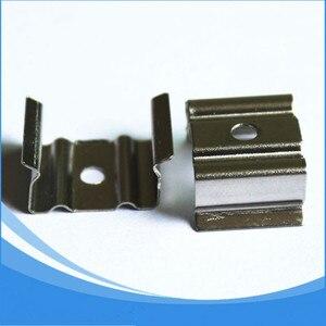 Image 4 - Светодиодный алюминиевый профиль длиной 1 м, 10 шт., бесплатная доставка, Светодиодная лента, алюминиевый корпус канала, артикул LA LP07 для светодиодной ленты шириной 12 мм