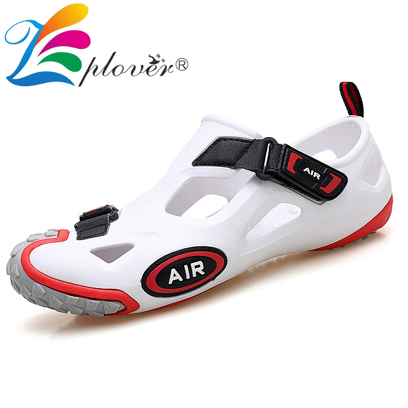 Fashion Summer Shoes Men Sandals Casual Slippers Men Beach Sandals Outdoor Hook Loop Light Men Casual Shoes Plus Size 38-45 38 46 plus size summer shoes men sandals leather shoes men casual summer sandals men summer shoes