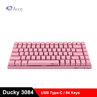 AKKO Ducky 3084 Mechanical Keyboard Cherry MX Switch Compact 84 Keys Wired USB Type C For Game Side Letter Carved Design
