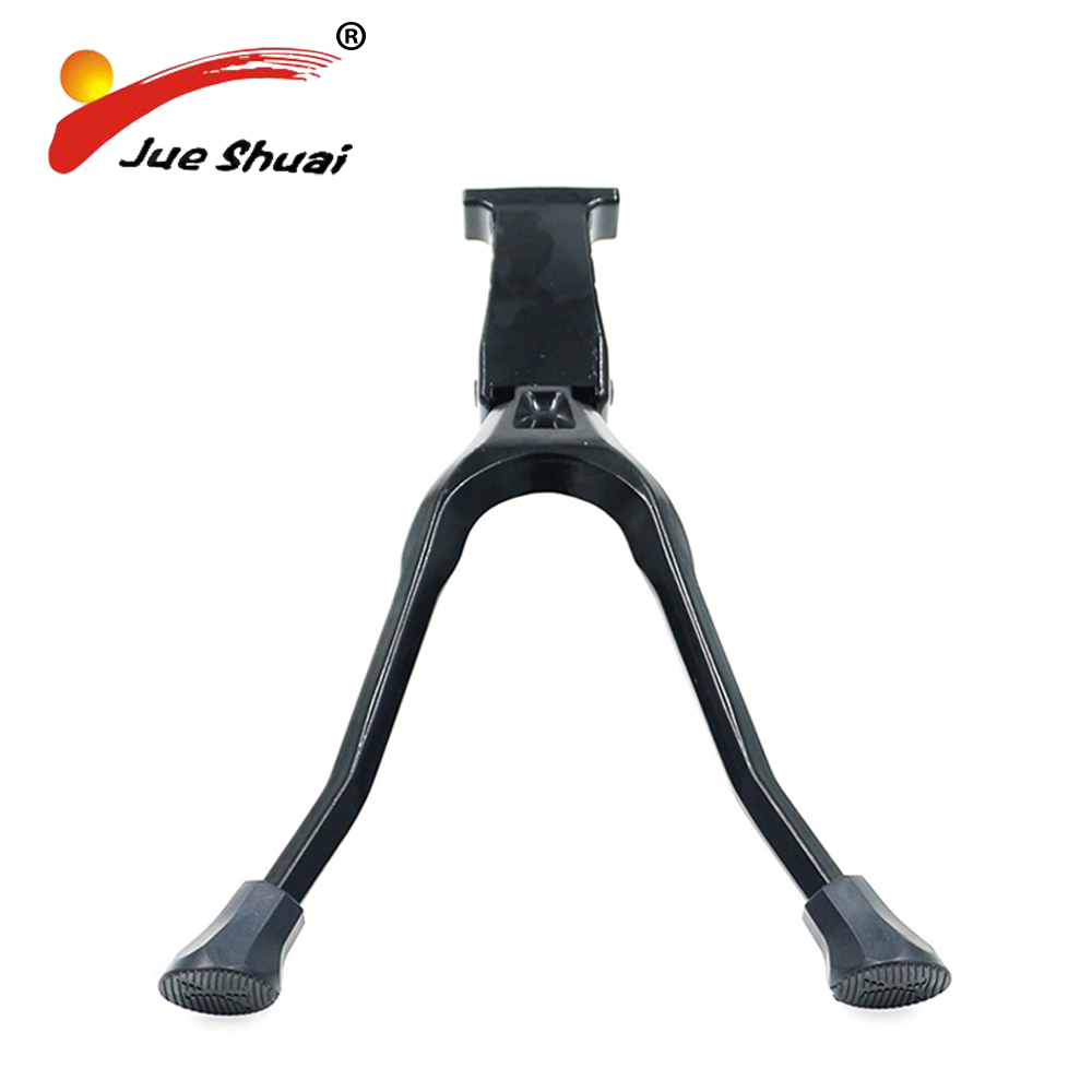 Aluminum Alloy Bicycle Double Stand Braking System Parking Rack 20 24 26 700C Size Black And