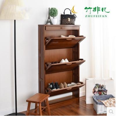 Shoe Cabinets Shoe Rack Shoe Storage Home Furniture Bamboo Shoes Organizers  Chaussure Rangement Schoenen Rek Guardar