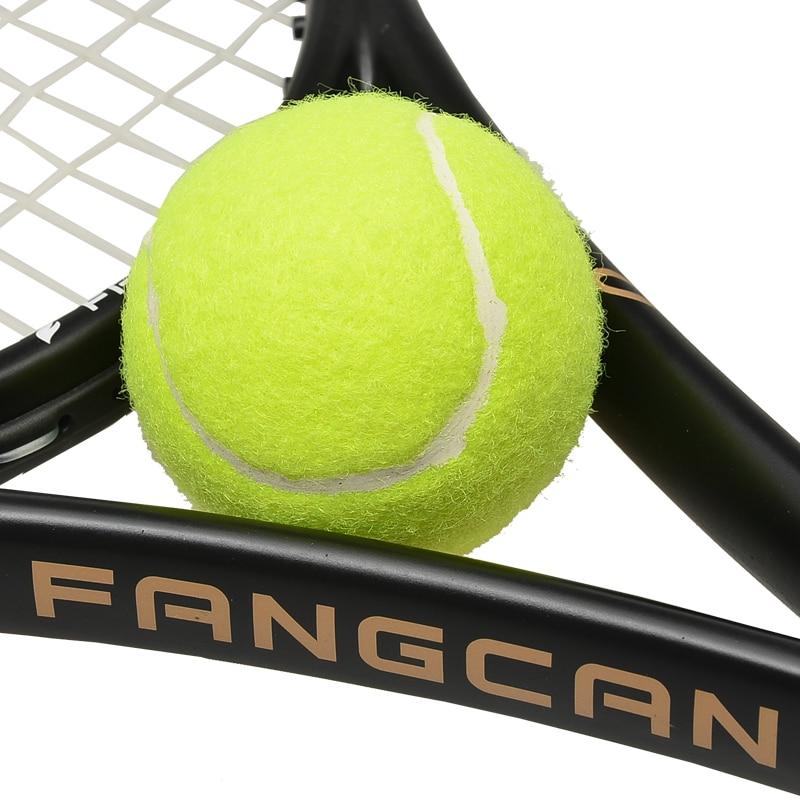 1 Pc FANGCAN Training Tennis Ball 65mm Good Rebounce Standard Training Balls For Beginners