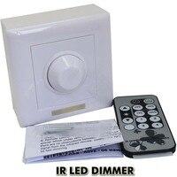 220 v 110 v Triac LED Dimmer 300 Wát 8A IR LED Dimmer Switch 3%-100% Mờ Phạm Vi cho mờ đi Ánh Sáng Tại Chỗ downlight Miễn Phí shippin