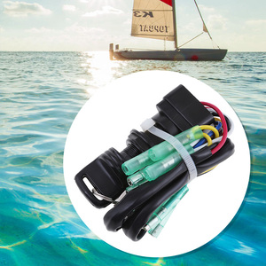 Image 5 - Universal Boat Ignition Key Switch Assembly For Yamaha 40HP 60HP Outboard Motor Replace 703 82510 42 00/703 82510 43 00 Marine
