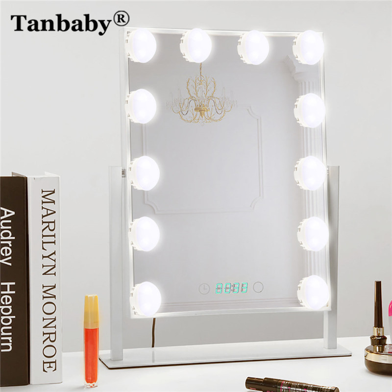 Tanbaby 10Bulbs Hollywood Style LED Vanity Mirror Lights ...