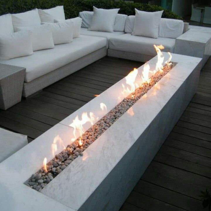 On Sale Outdoor Fireplace With Stainless Steel Burner 62 Inch Lareira Etanol