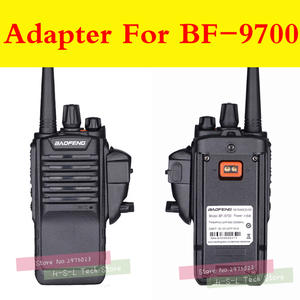 Image 3 - Walkie talkie Audio Adapter + 2Pin Headset Für Baofeng BF 9700 UV XR UV 5S UV5R WP BF R6 GT 3WP T 57 UV 9R Für M Interface port