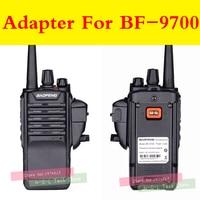 uv 9r gt 3wp Talkie Walkie אודיו מתאם + 2Pin Headset לקבלת Baofeng BF-9700 UV-XR UV-5S UV5R-WP BF-R6 GT-3WP T-57 UV-9R עבור M ממשק פורט (3)