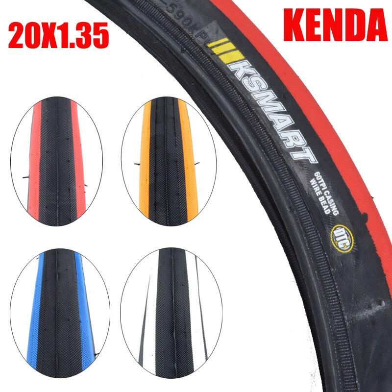 KENDA pneu de vélo 20 pouces 20*1.35 BMX enfant 20er kevlar stab couleur pneu 32-406 vélo