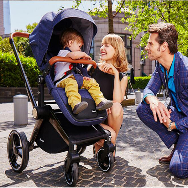Cochecitos puede sentarse reclinado multifunción cochecito paisaje de alta cubierta de choque niños carro carro de bebé de envío gratuitos