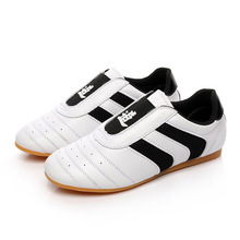Sepatu klasik sepatu taekwondo kung fu klasik tahan aus bernapas
