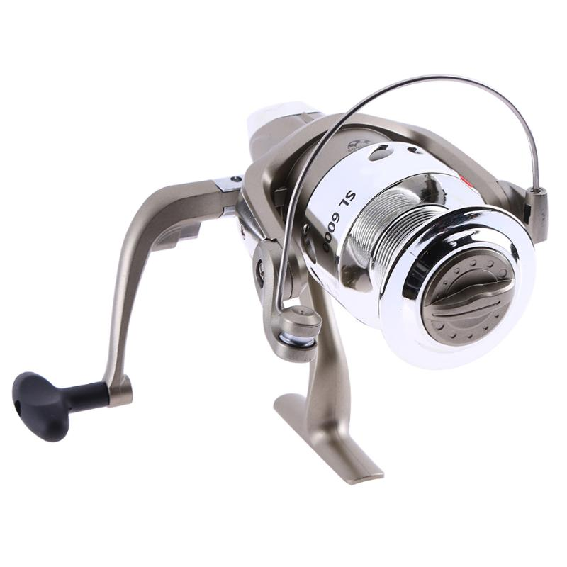 Fishing Reel Carp Spinning Reel 3-Axis GT 5.1:1 Aluminum Alloy Metal Spinning Fishing Re ...