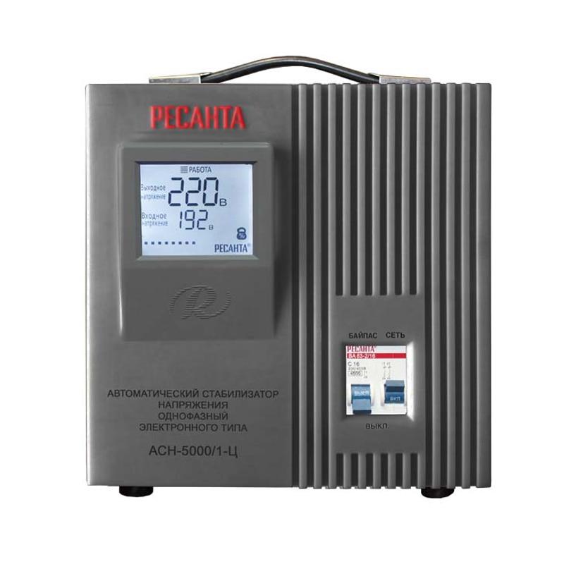 Voltage stabilizer RESANTA ASN-5000/1-C cxa 0247 pcu p052d tdk lcd inverter high voltage switchboard
