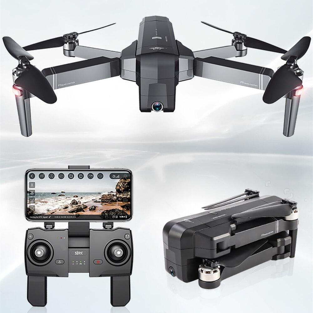 SJRC F11 GPS Drone avec Wifi FPV 1080 P Caméra Brushless quadrirotor 28 minutes temps De vol Quadrocopter Avec caméra Dron vs CG033