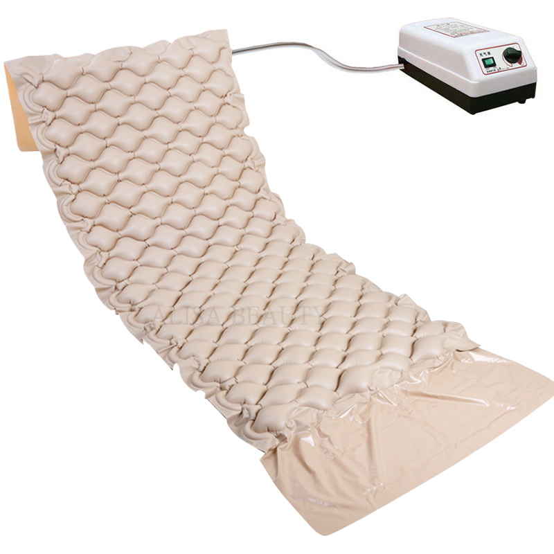 medical hospital sick bed alternating pressure air mattress with pump prevent bedsores and decubitus pneumatic massage