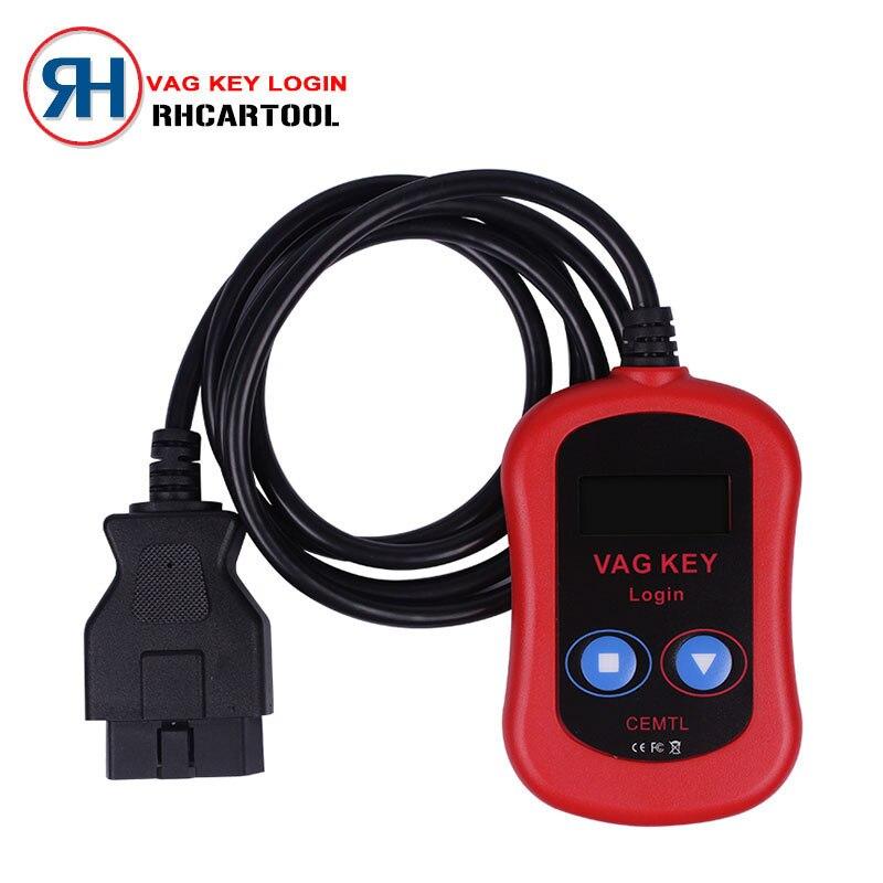 Цена за Новый Дизайн Автомобилей VAG PIN-Код Чтения/Ключевые Программист Устройства через OBD2 vag ключ войти высокое качество vag ключ программист Бесплатная Доставка доставка