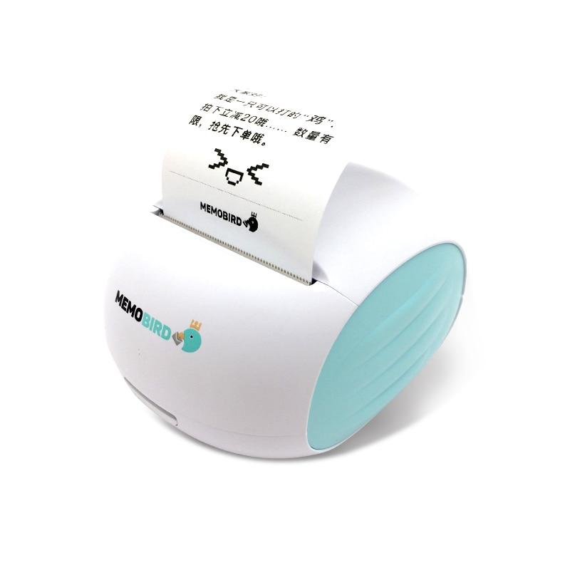 MEMOBIRD G2 Portable Mini Printing Barcode Wireless Pocket Thermal Receipt Label Printer Wifi Photo Printer JEPOD
