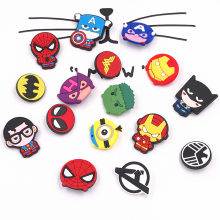 16 stks Batman Spider Man Harajuku Cartoon Avenger Hulk Thor Broche Badges Kleding Jeans Pins Rugzak Broach mode decoratie(China)