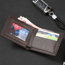2019 Top Vintage Men Leather Brand Luxury Wallet Short Slim Male Purses Money Clip Credit Card Dollar Price Portomonee Carteria men wallet leather vintage purses high quality money bag credit card holders new dollar bill scrub short wallet wholesale price