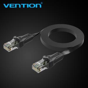Image 5 - Cabo de remendo liso 1 m/5 m/10 m/20 m do cabo rj45 do lan da rede do gato 6 dos ethernet da vention cat6 para ethernet do cabo do portátil do roteador de pc
