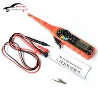 Multifunctionele Elektrische Automotive Circuit Tester Multimeter Lamp Auto Reparatie Automotive Elektrische Multimeter (Scherm) Gratis Schip