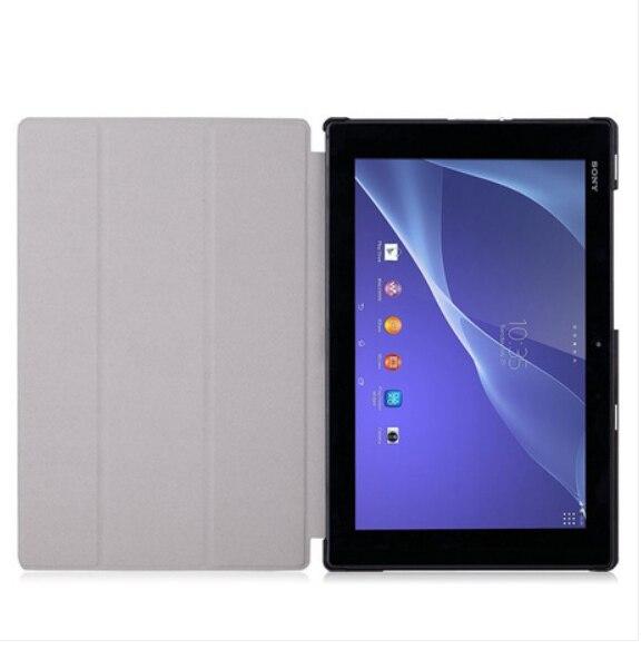 Sony Xperia Tablet Z2 üçün Orijinal Dəri Qutusu + PC Stand - Planşet aksesuarları - Fotoqrafiya 2