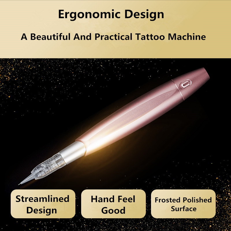 Professional Multi-Functional Semi-Permanent Makeup Tattoo Machine Use For Eyebrows Lips Eyeliner Tattoo Free Shipping free shipping 3 pp eyeliner liquid empty pipe pointed thin liquid eyeliner colour makeup tools lfrosted purple