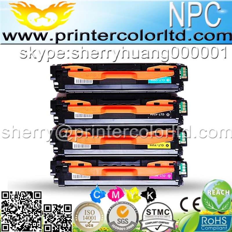 ФОТО toner for Samsung CLT K504S 504 CLP 415 470 475 CLX 4195 CLX-4195N 4195FW C1810W 4170 for Samsung CLT-504 Color toner cartridge