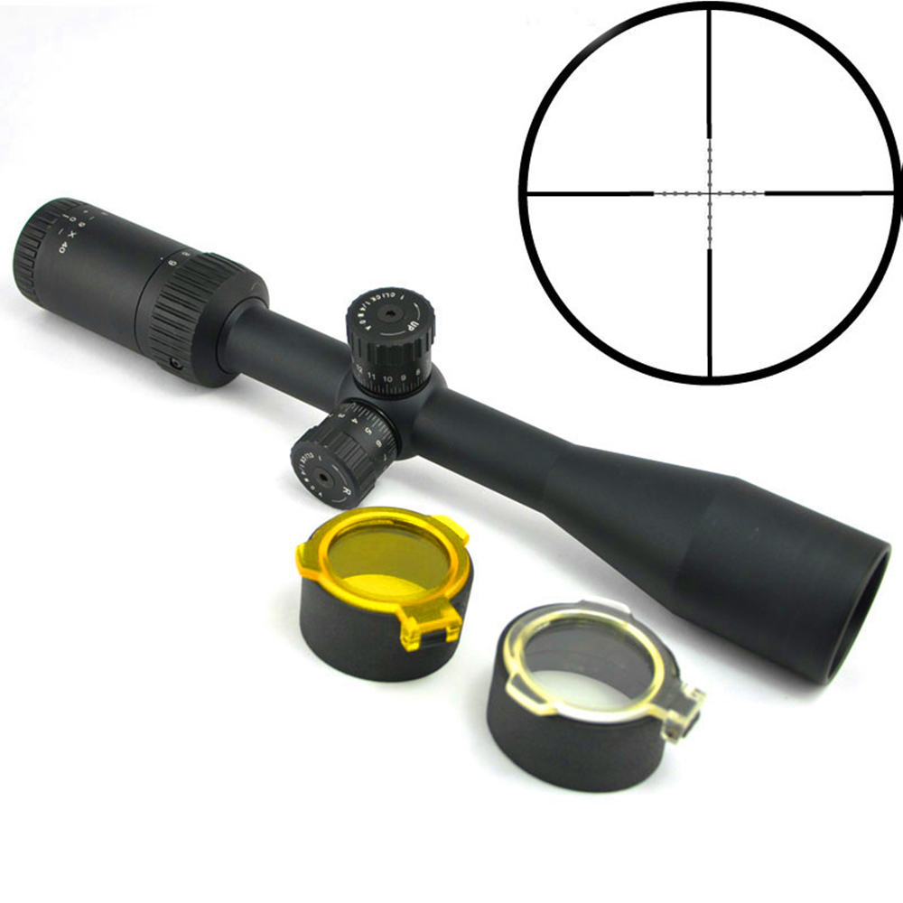 Visionking 3-9x40 Rifle Scope Riflescopes For Target Shooting Hunting Scope For Rifle 1 Inch For Ar15 M16 M4 Mil Dot Reticle 1 5 4 28 rifle scope rifle scope shooting hunting pp1 0165