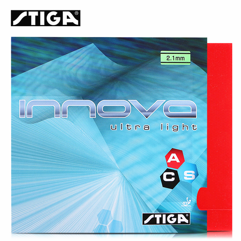 Stiga INNOVA ULTRA LIGHT ACS Pips-in Table Tennis Rubber Pimples In Ping Pong Rubber