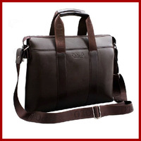 Free Shipping New 2015 Famous Brand Designer POLO Men Bag Genuine Leather Men Messenger Bags Computer