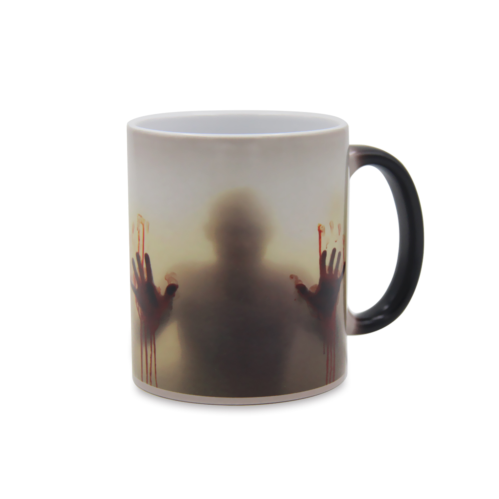 Hot Walking Dead Cool Mugs Color Change Ceramic Coffee Mug