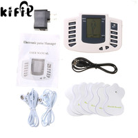 KIFIT Electronic Body Pulse Massage With Digital Display For Muscle Relax Pain Relief Stimulator Acupuncture Therapy