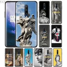 Retro Vintage Statue Art Phone Case for Oneplus 7 7Pro 6 6T Oneplus 7 Pro 6T Black Silicone Soft Case Cover