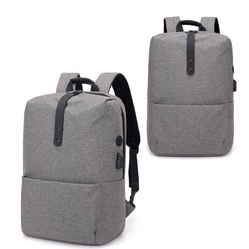 Gmilli 15.6 inch USB Charging Large Capacity Students School Waterproof Oxford Laptop Backpack Dropshipping
