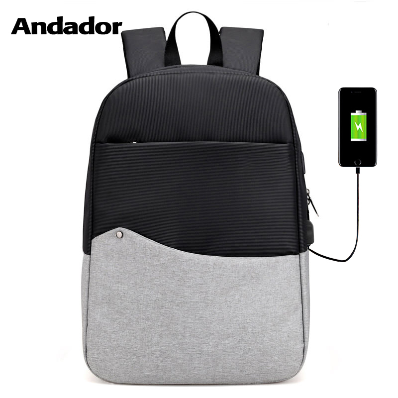 high quality men travel pack back with usb charge fashion style student laptop backpack business traveling backpack women bags