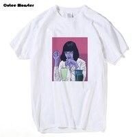 Mia Wallace T Shirt Men Movie Quentin Tarantino Pulp Fiction T Shirt Male Summer Short Sleeve