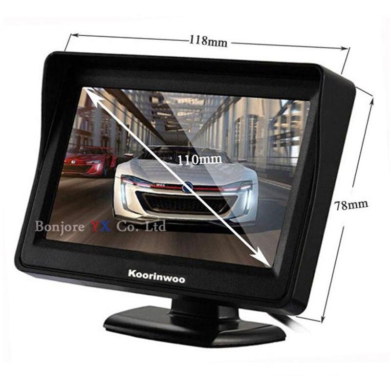 Koorinwoo Vehicle Hight Resolution Car TFT LCD Ավտոկանգառ - Ավտոմեքենայի ներքին պարագաներ - Լուսանկար 2
