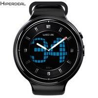 MTK6580 ОС Android 5,1 ПЗУ 16 Гб оперативная память 2 Гб Bluetooth Smart часы Wi Fi gps 2MP Камера монитор сердечного ритма ЭКГ для IOS Android DE06b