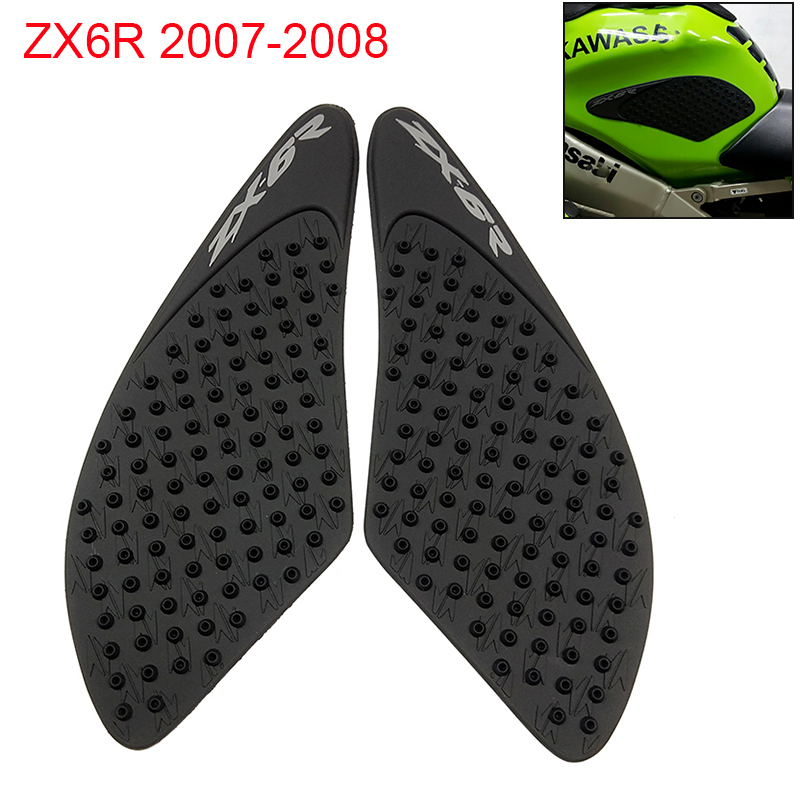 Motorcycle Anti-slip Tank Traction Pad Knee Grip Sticker For Kawasaki Ninja Zx-6r 2009-2018 Motorcycle Accessories New Decals & Stickers Automobiles & Motorcycles