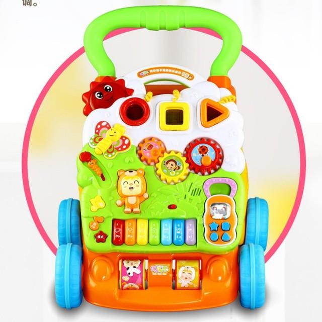 Andador Multifuncional aprendizaje temprano educación de juguete caminar regalo de buena calidad para los niños