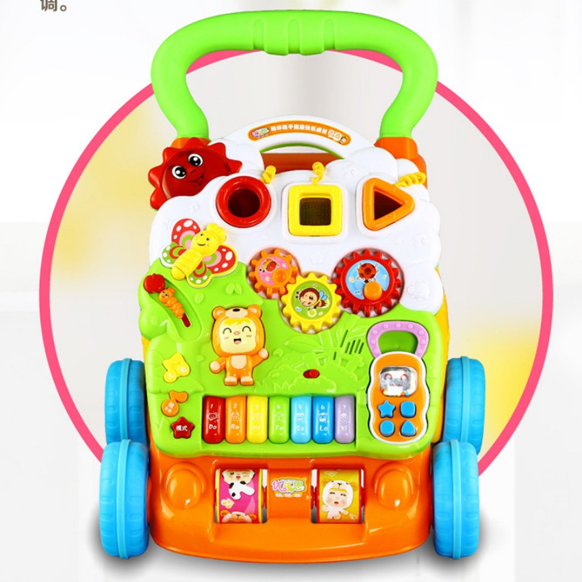 baby walker Multifunction early education learning walking toy good quality gift for kids 45cm baby stroller sit to stand learning walker multifunction outdoor toy ride on car stokke activity walker gift for baby